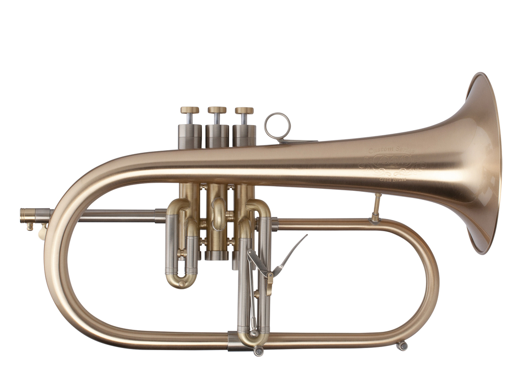flugelhorn adams custom series f2 goldbrass bell