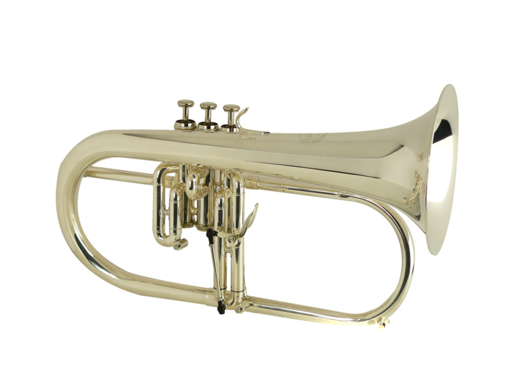 Bugel Jupiter JFH 846RS, goldbrass beker, verzilverd