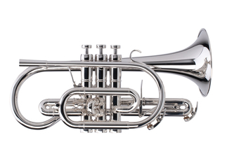 Cornet (Bb) Adams Custom Series CN-1 Selected Model, Brass Bell 0,50mm, Silver Plated