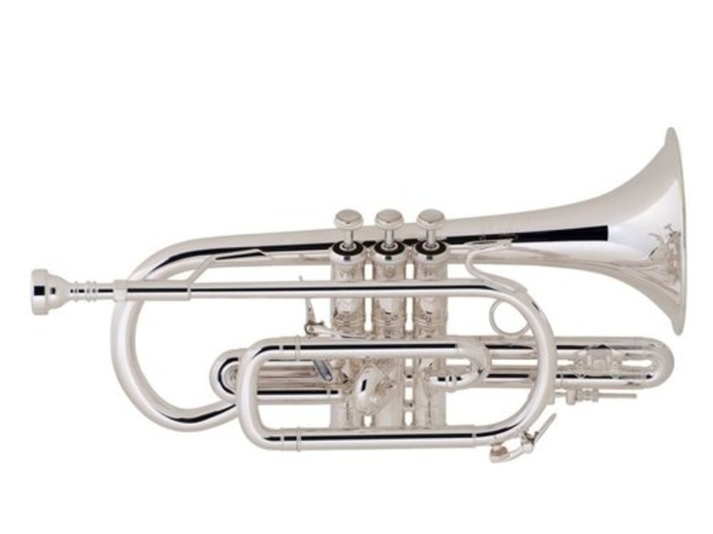 cornet bb bach 184 xl stradivarius short model silver