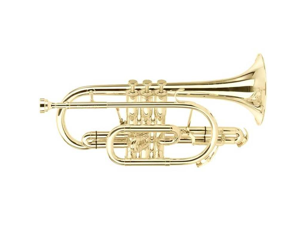 Cornet Bes Besson BE928G-1-0, Sovereign, wijde boring, goldbrass beker, lak
