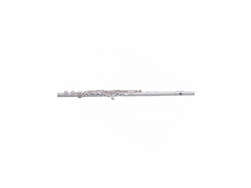 Flute Pearl F505RE-1R, Quantz Forza, Silver Plated, off-set, open Keys, Split-E, pointed arms, Forte Headjoint