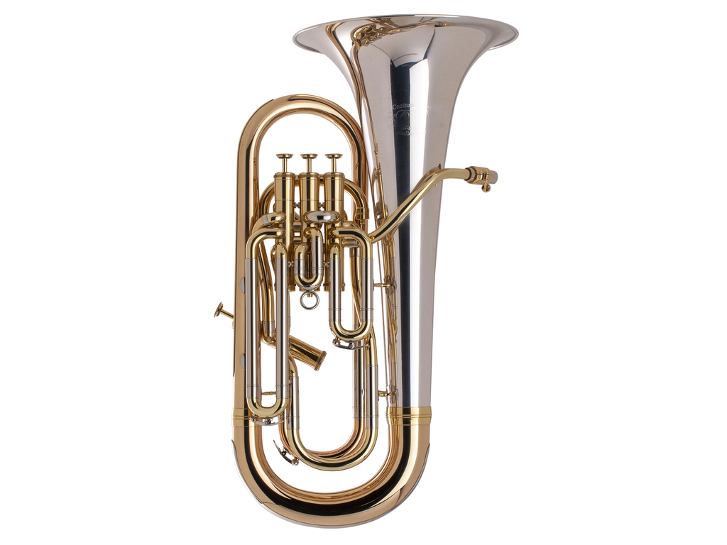 Euphonium Adams Custom Serie E1 Selected Model, Sterling Silver Bell thickness 0,60mm, Laquered