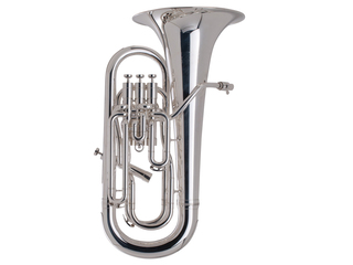 Euphonium Adams Custom Serie E2 Selected Model, Brass Bell, thickness 0,80mm, Silver Plated