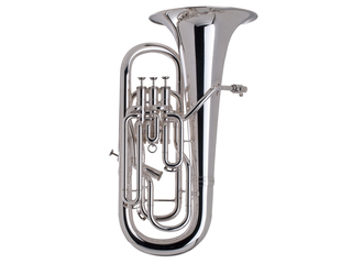 Euphonium Adams Custom Serie E3 Selected Model, Messing beker, dikte 0,60mm, verzilverd