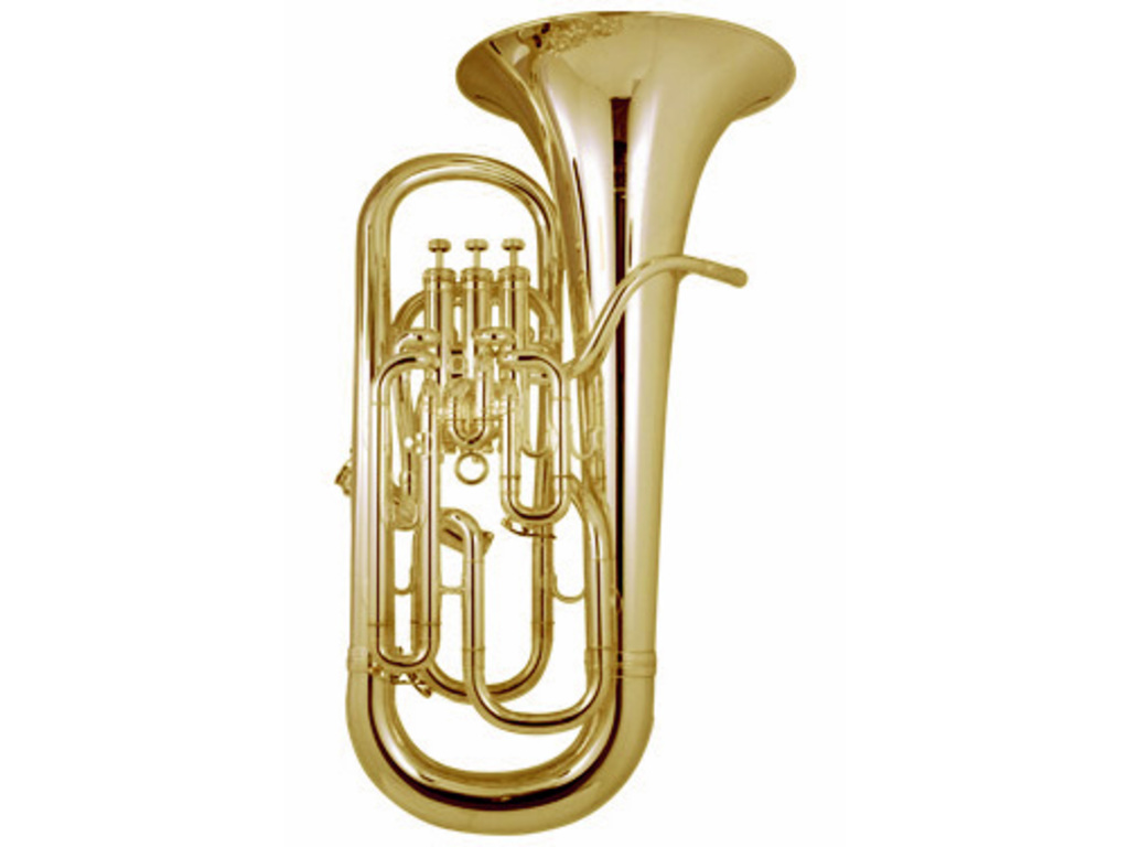 Euphonium Besson BE967 Sovereign, gecomp., lak, beker 305 mm, 4-ventiel