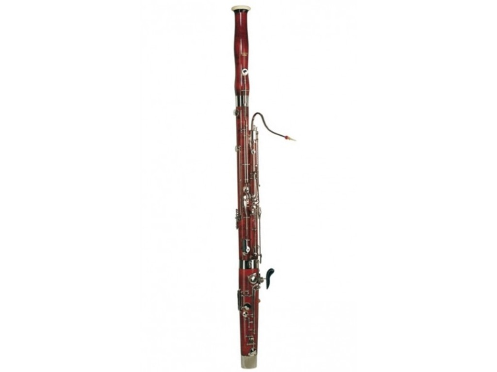 Bassoon Moosmann 100, Student Model, Silver, High D, doorgevoerde toongaten