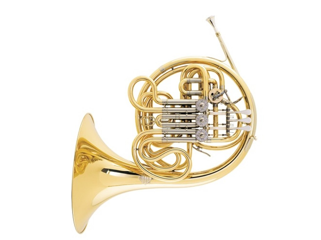 French Horn F Bb Alexander 103 MAL, Brass, Double Horn, detachable Bell, Laquered