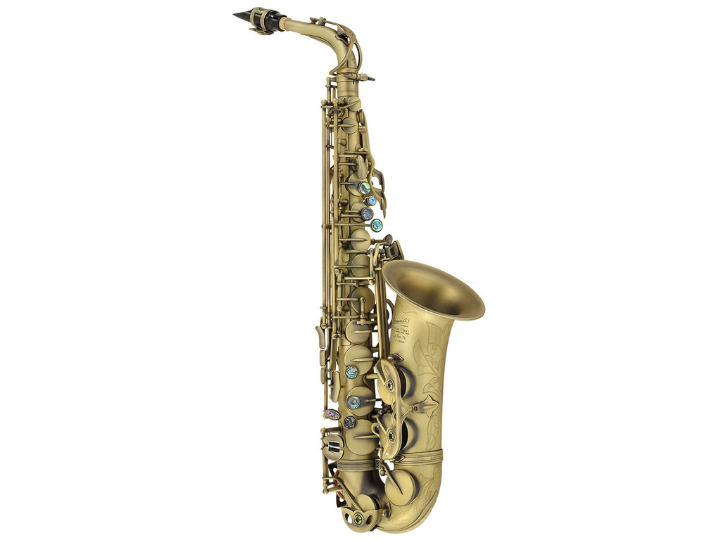 Saxophon Alt P. Mauriat System- 76 II, 2nd Edition, vintage dark finish