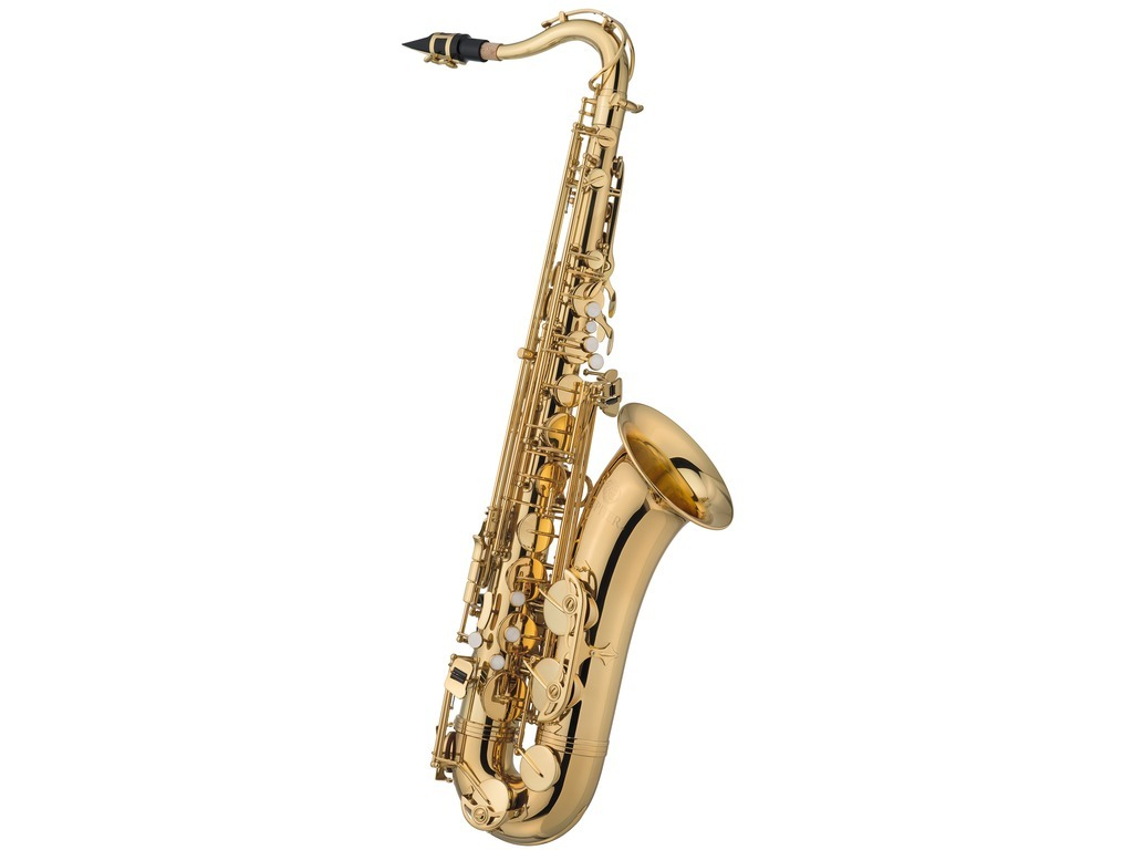 Saxofoon Tenor Jupiter JTS 500Q, messing, goudlak