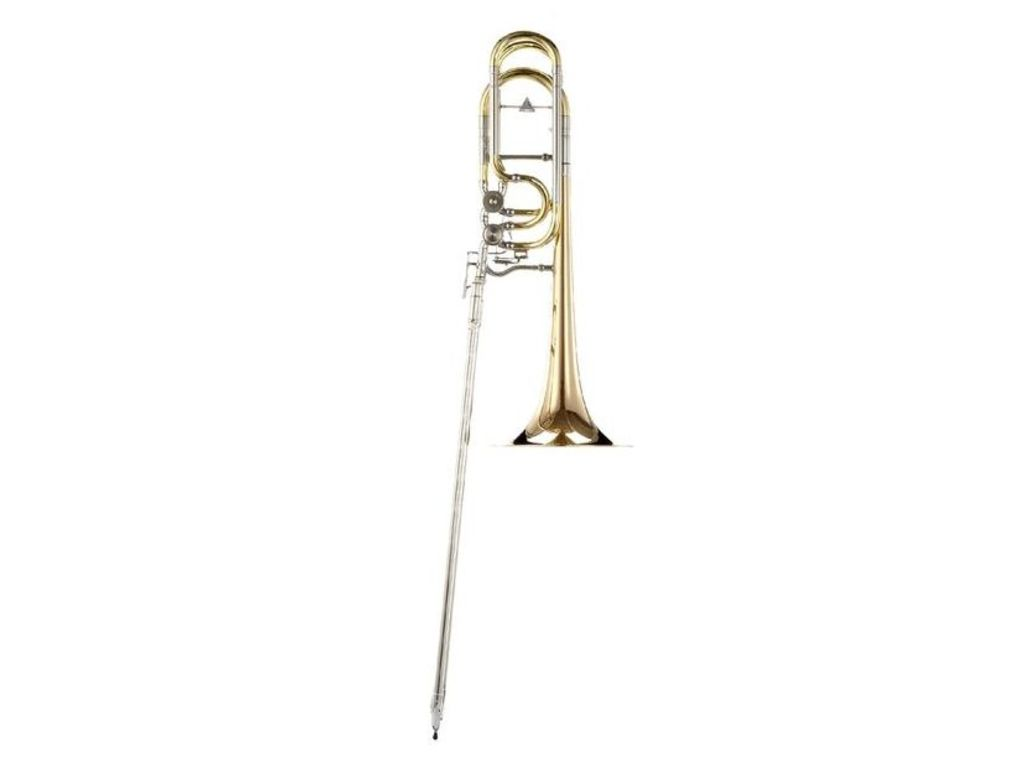 Trombone (Bas) K&H Orchestra Signature, OpenFlow In-Line ventiele, messing beker 260 mm, excl. koffer