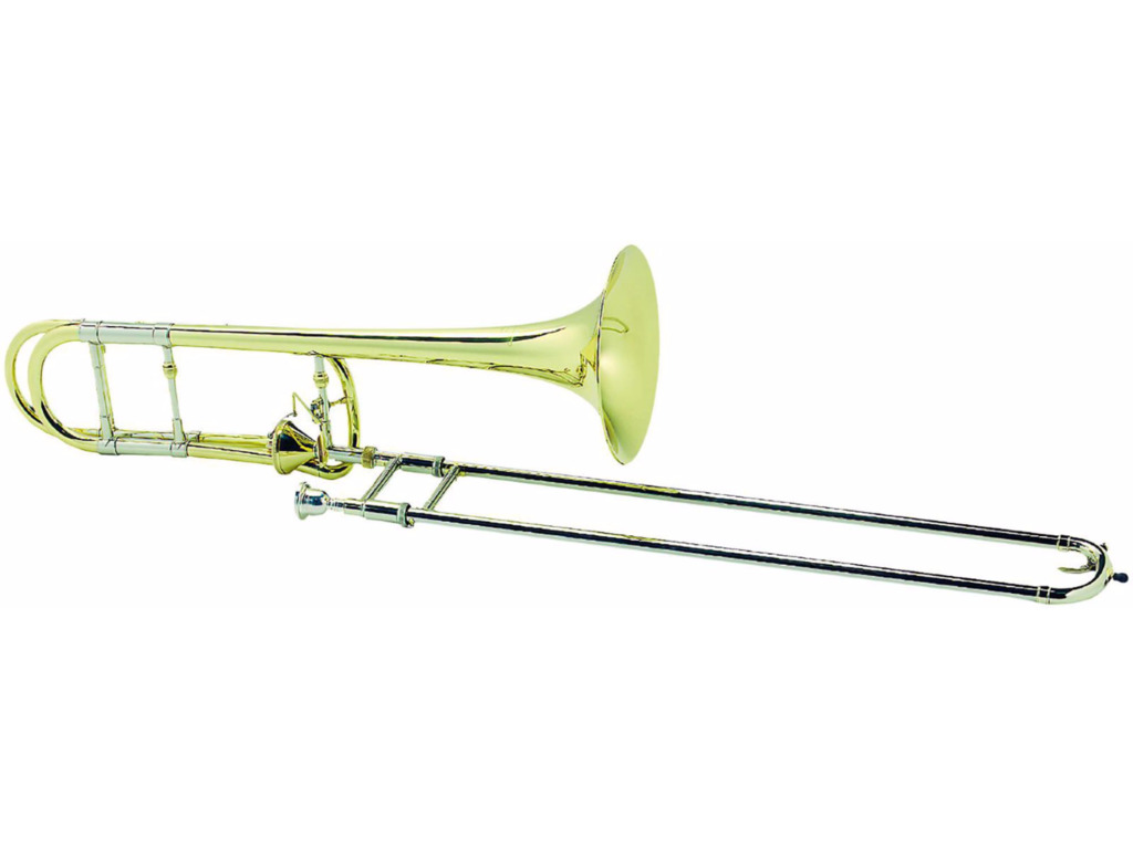 Trombone (Tenor) Courtois 420BT Legend, Thayer cilinder, goldbrass beker, lak