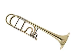 Trombone (Tenor) Edwards T396, Alessi Model, Rotax cilinder, goudmessing schuif