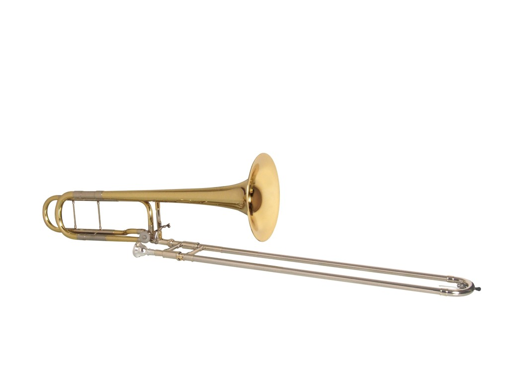 Trombone (Tenor) K&H 139, 13,9mm bore, beker 220mm, kwartv., open wrap, licht. nz schuif, goldbrass beker, lak