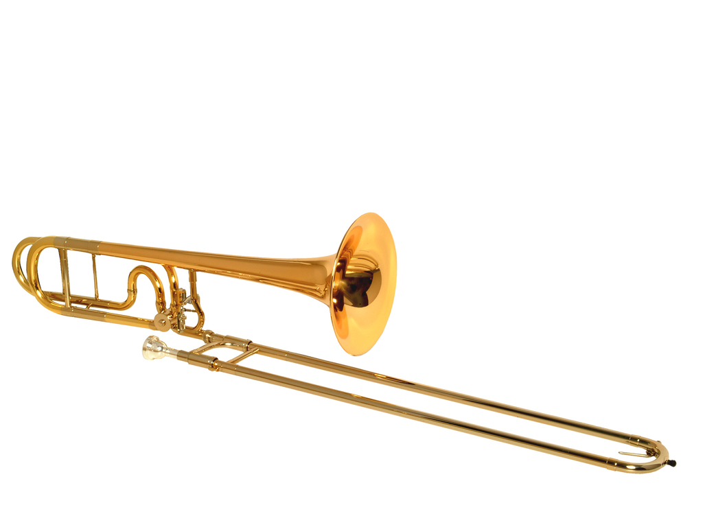 Trombone (Tenor) K&H Bolero (151 31 NZ), 13,9mm bore, n. zilv. schuif, kwartv., comp. open design, lak