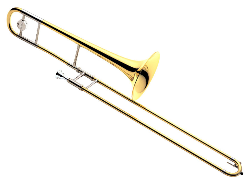 Trombone (Tenor) Yamaha YSL-630, Medium Large, messing beker
