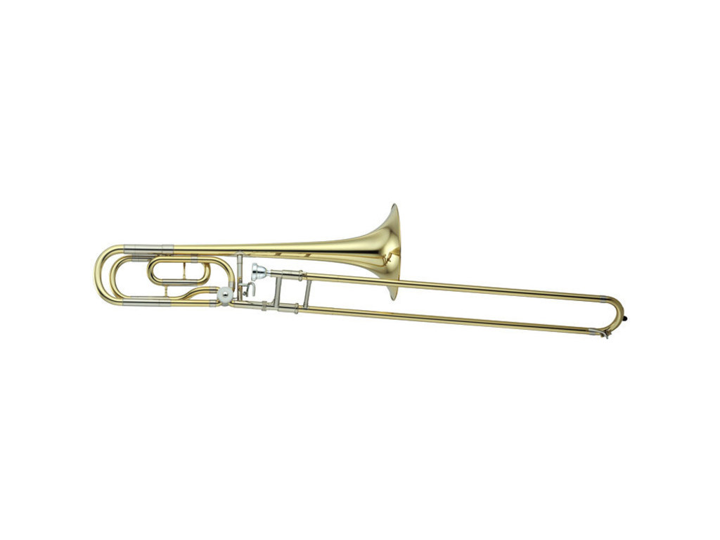 Trombone (Tenor) Yamaha YSL-640, Medium Large, messing beker, kwartventiel