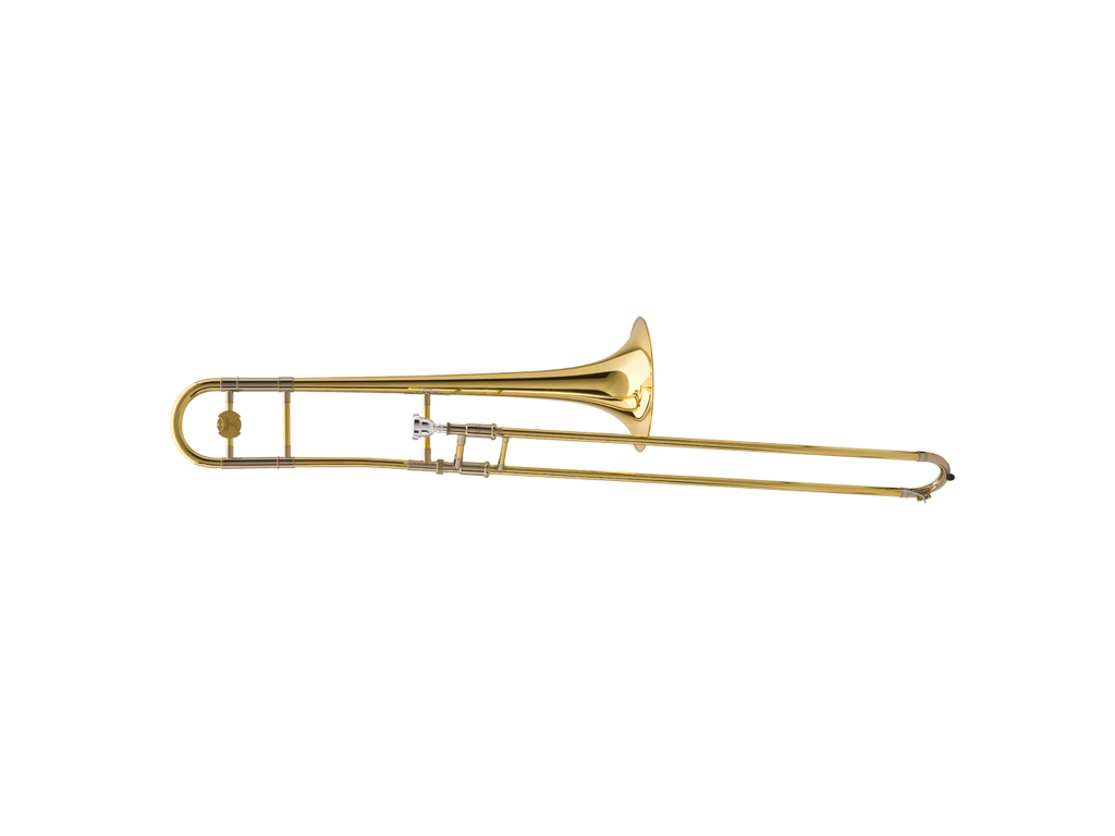 Trombone (Tenor) Yamaha YSL-897Z, Jazz model, dual bore, messing beker, gelakt