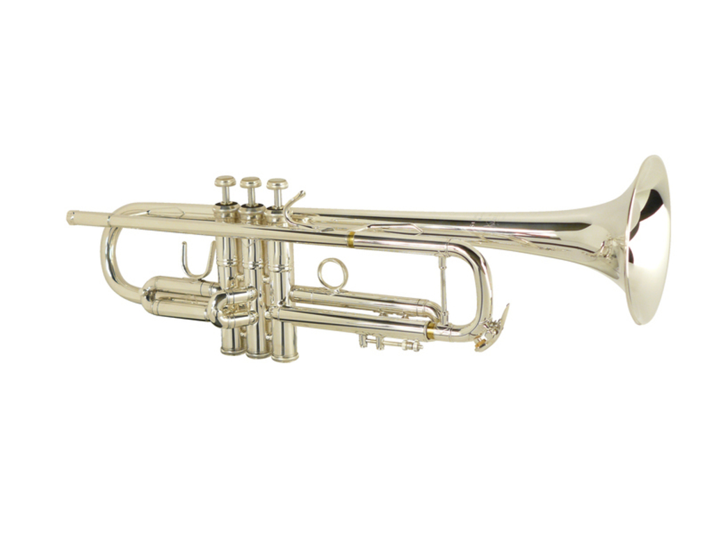 "Trumpet Bb Vincent Bach LR180S-43, Stradivarius, Lichtgewcorp., ML Bore, 43"" Bell, Silver"
