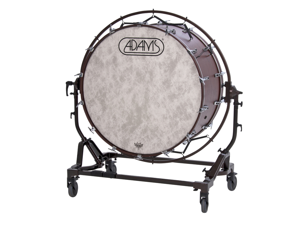 "36"" x 18"" Gen II Concert Bass Drum with height adjustable Free Suspended Stand"