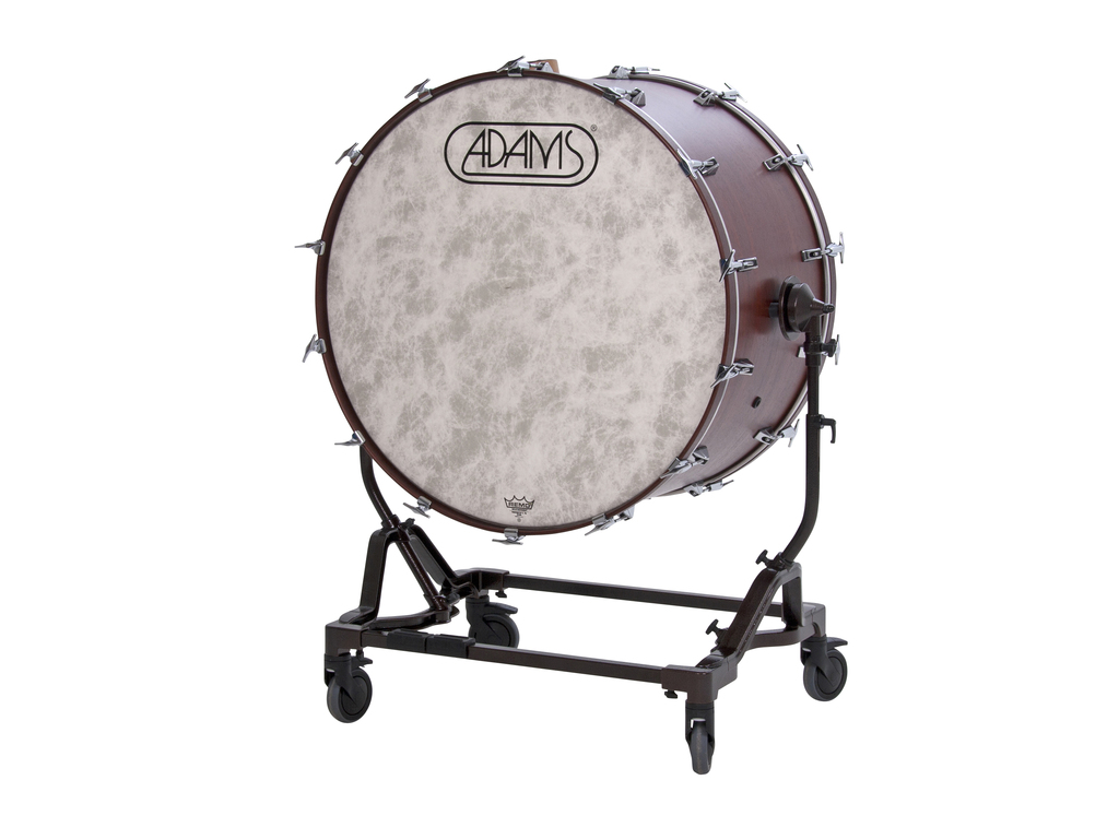 "40"" x 22"" Gen II Concert Bass Drum with height adjustable Tilting Stand and Cymbal Holder"