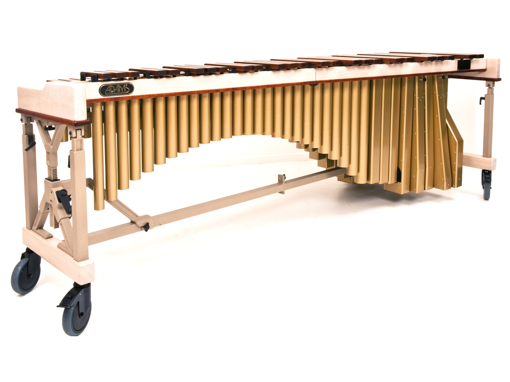 Marimba Artist Ludwig Albert, MAHLA501, 5 oct., C2-C7, bars 72-40 mm (lacquered), Traveller Frame