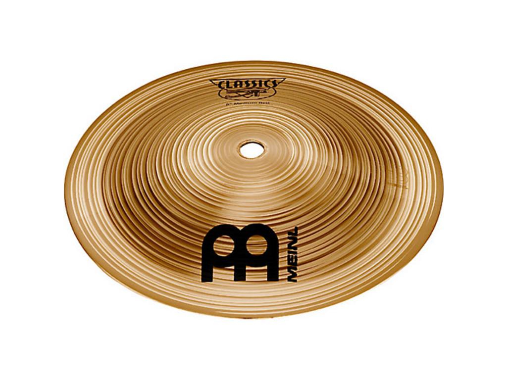 Bell Cymbal Meinl C8BL, Classics Serie, Low, 8""