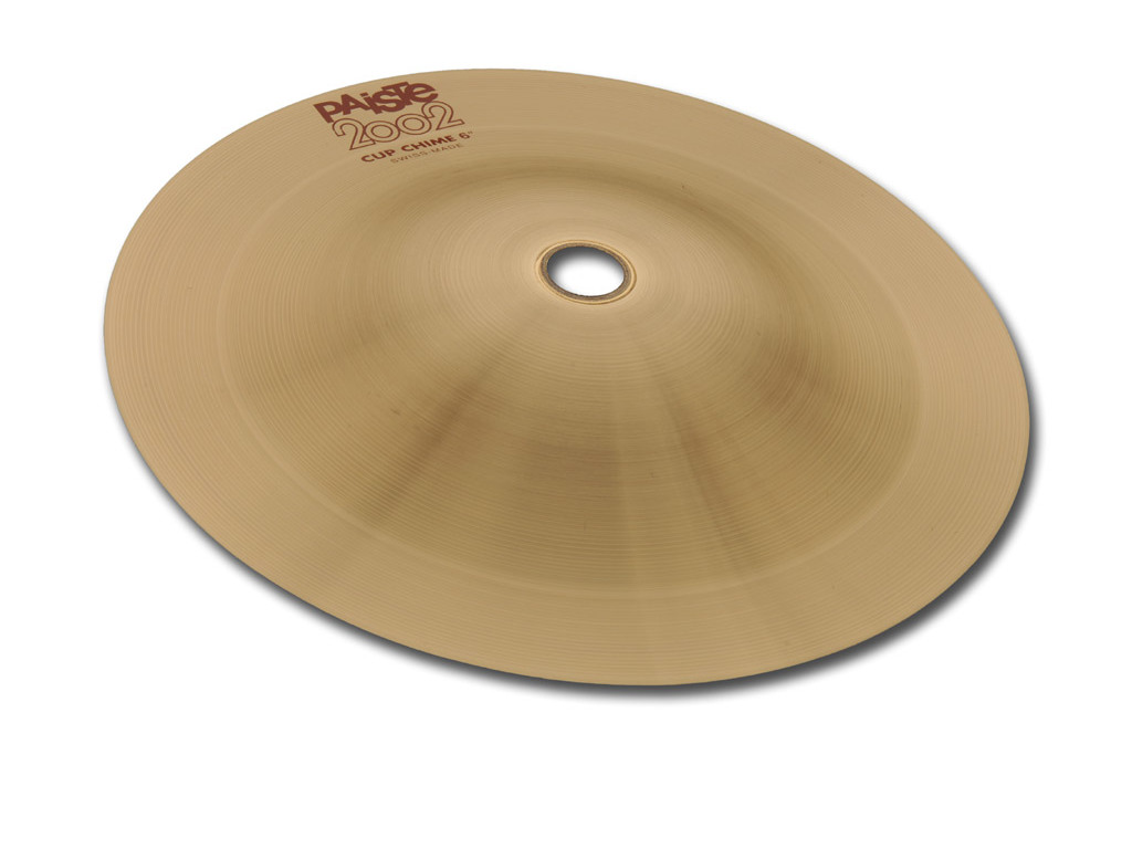 Bell Chime Cymbal Paiste CY0001069105, 2002 Serie, Cup Chime, Medium, 6""