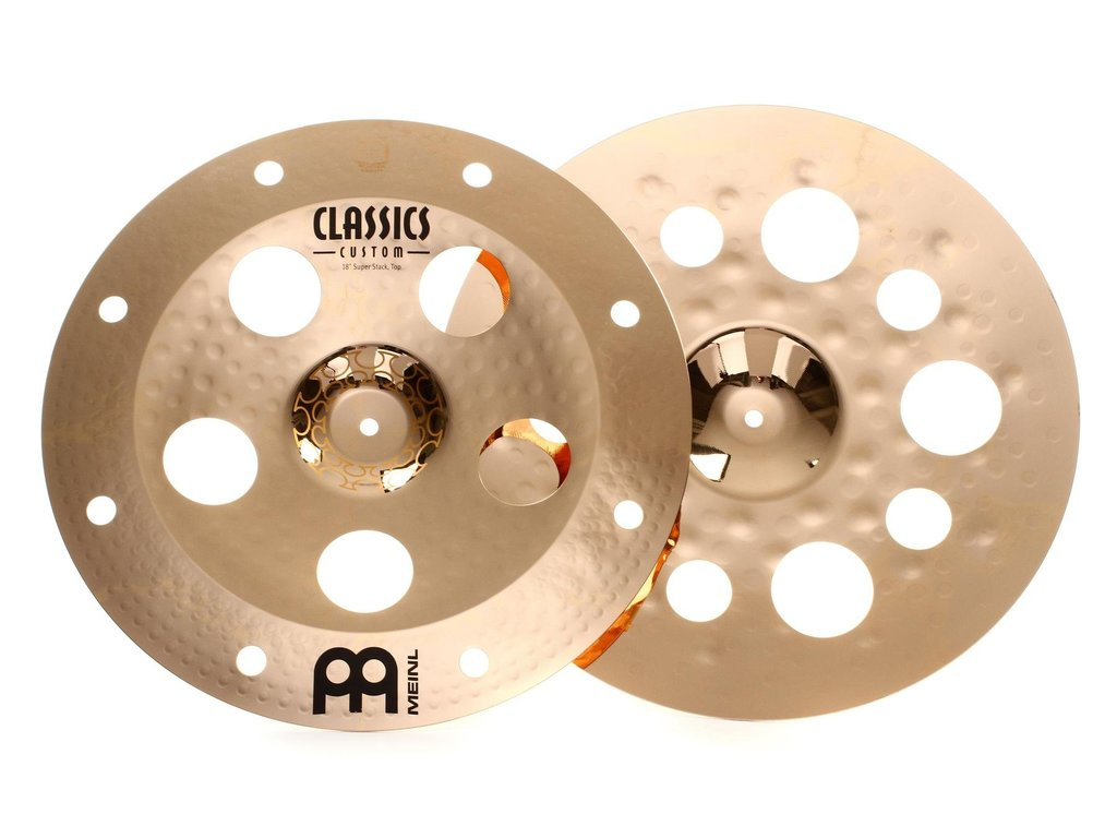"Effect Cymbal Meinl AC-SUPER, Classic Thomas Lang Super Stack 18""/18"""