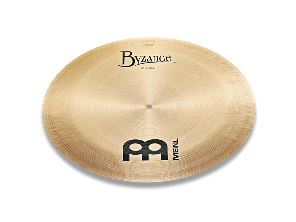 China Cymbal Meinl B16FCH, Byzance Serie, Traditional, Flat, 16""