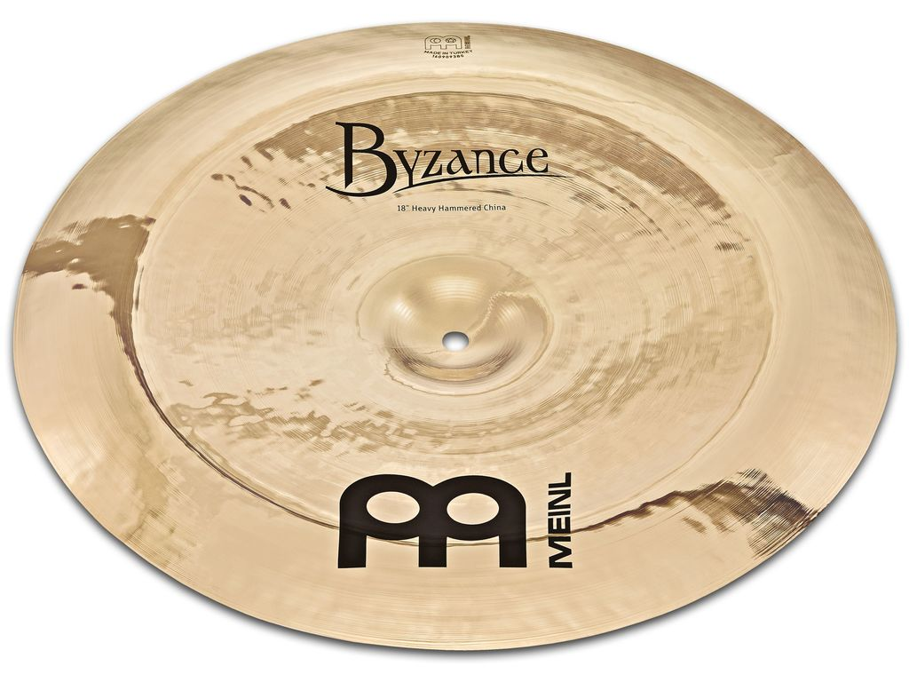 China Cymbal Meinl B18HHCH-B, Byzance Serie, Brilliant, Heavy Hammered, 18""