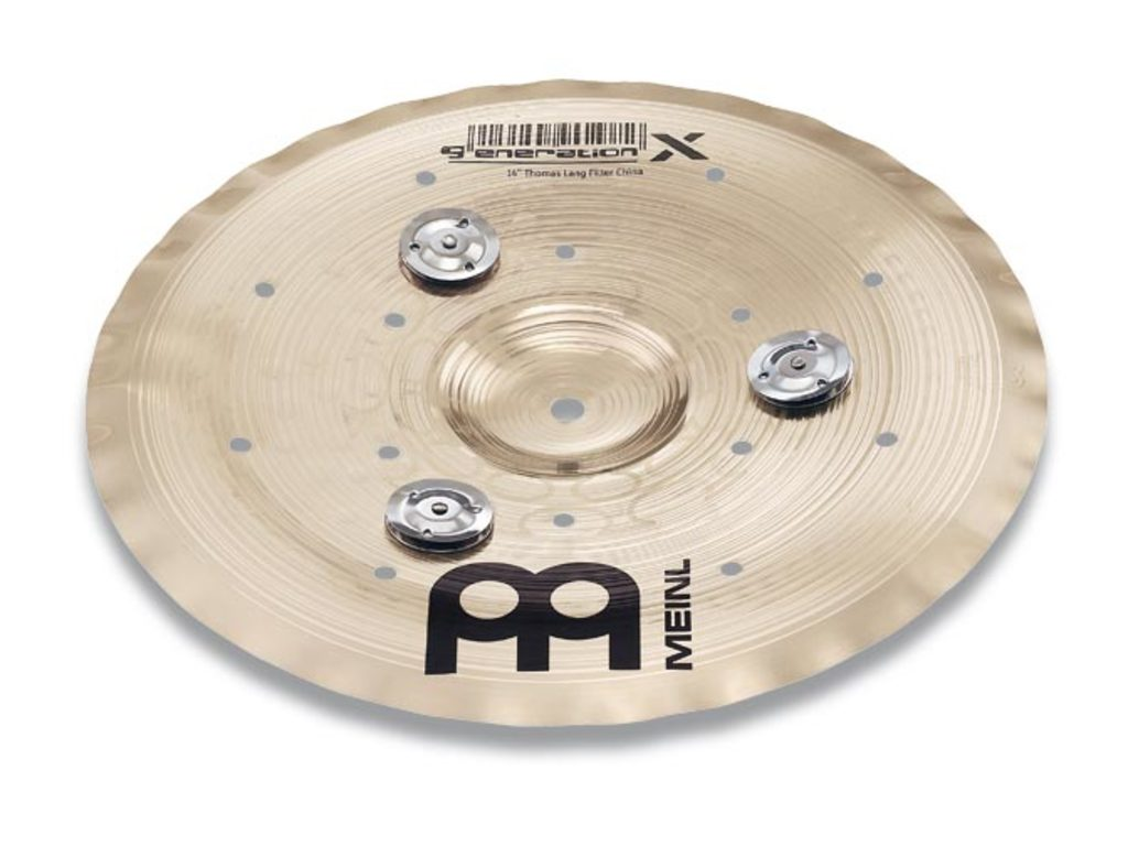 Effect Cymbal Meinl GX-10FCH-J, Generation X Serie, Jingle Filter, 10""
