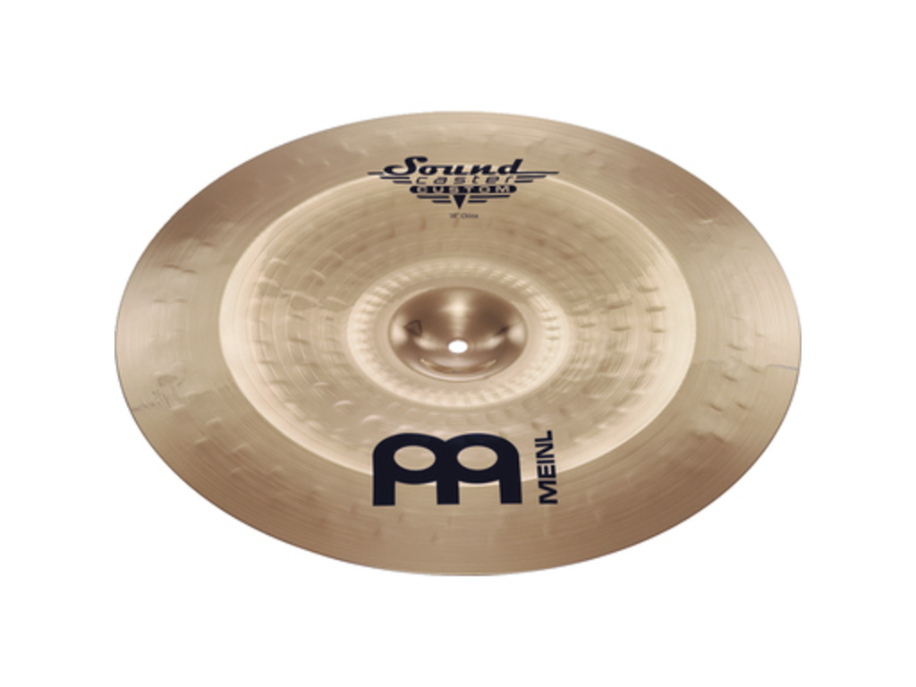 China Cymbal Meinl SC18CH-B, Soundcaster Serie, Custom, 18""