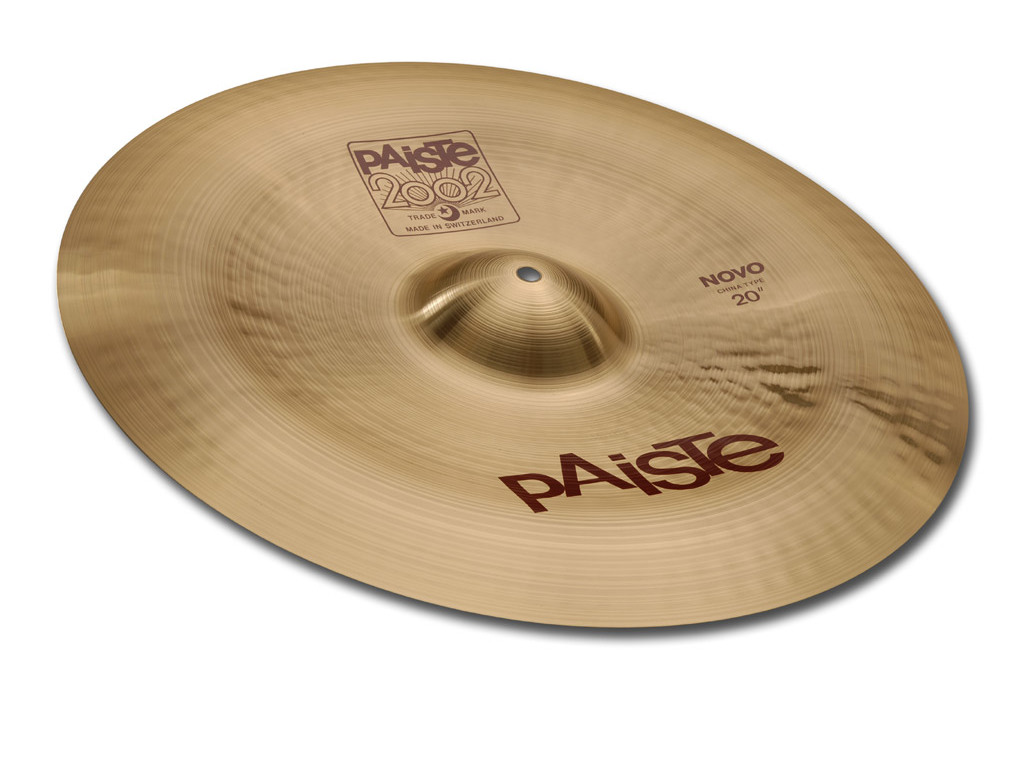 China Cymbal Paiste CY0001062520, 2002 Serie, Novo China, 18""