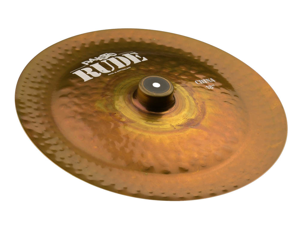 China Cymbal Paiste CY0001122618, RUDE Serie, 18""
