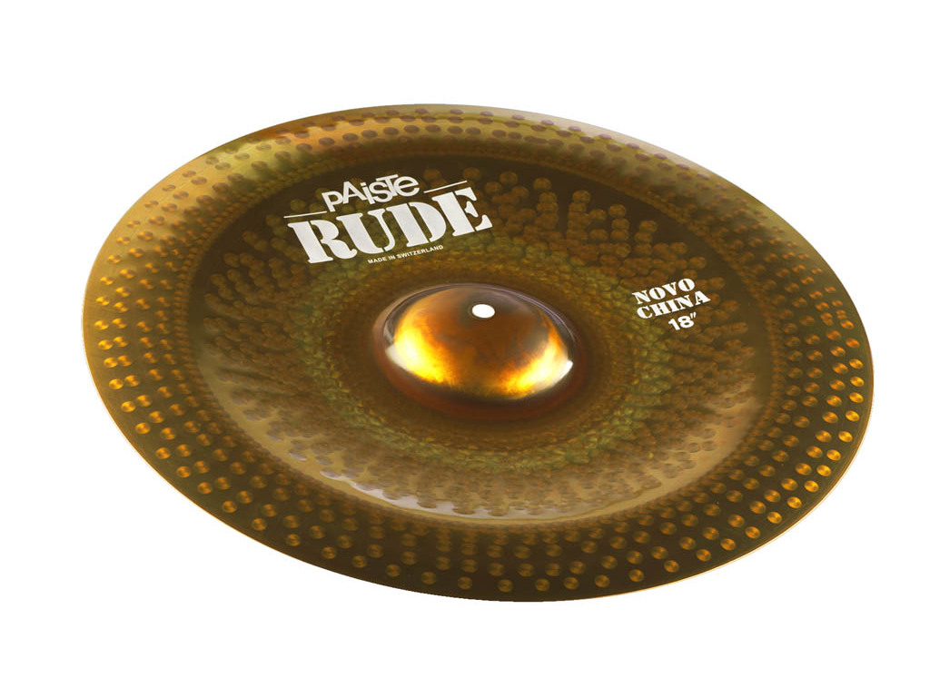 China Cymbal Paiste CY0001122518, RUDE Serie, Novo China, 18""
