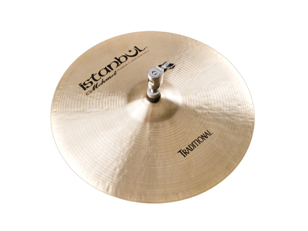 Hi-hat Cymbal Istanbul Mehmet HHH14, Traditional Heavy, 14""