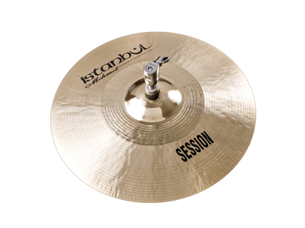 Hi-hat Cymbal Istanbul Mehmet SS-HH12, Session, 12""