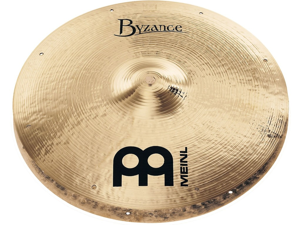 Hi-hat Cymbal Meinl B14FH, Byzance Serie, Brilliant, Fast, Signature Thomas Lang, 14""