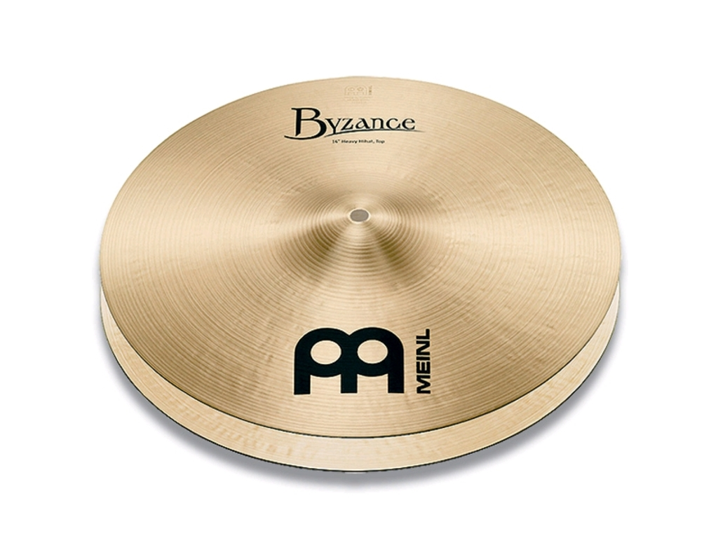 Hi-hat Cymbal Meinl B14HH, Byzance Serie, Traditional, Heavy, 14""