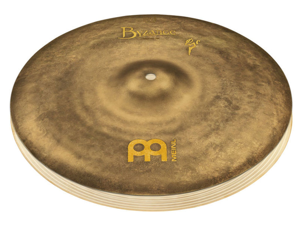 Hi-hat Cymbal Meinl B14SAH, Byzance Serie, Vintage Sand, Signature Benny Greb, 14""