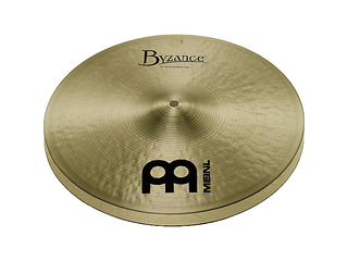 Hi-hat Cymbal Meinl B15MH, Byzance Serie, Traditional, Medium, 15