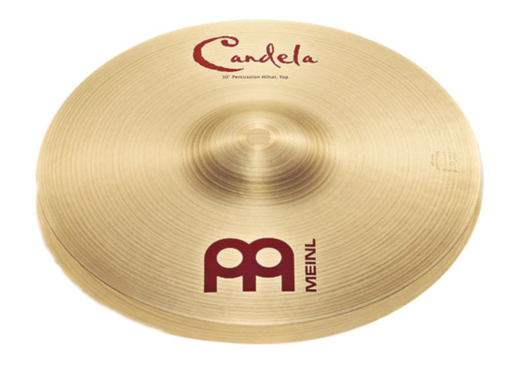 Hi-hat Cymbal Meinl CA10PH, Candela Percussion Serie, 10""