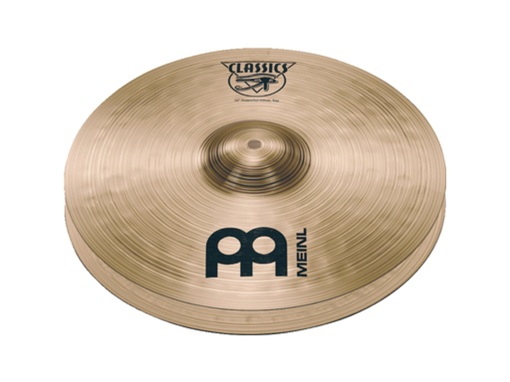 Hi-hat Cymbal Meinl C14PH, Classics Serie, Powerful, 14""