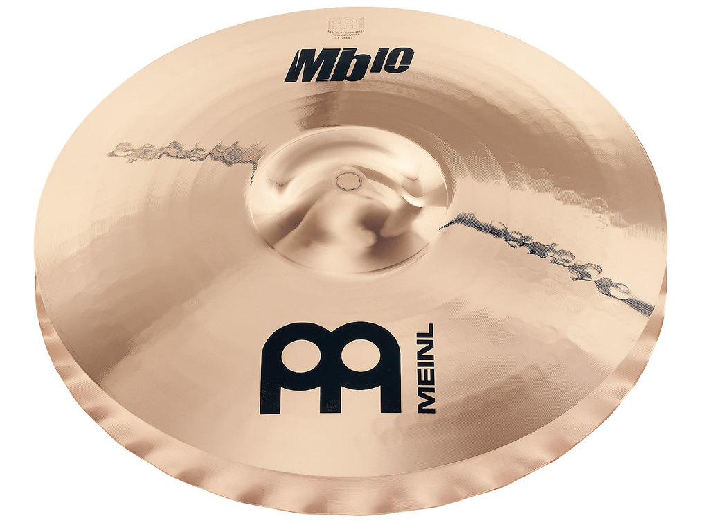Hi-hat Cymbal Meinl MB10-14MSW-B, MB10 Serie, Medium Soundwave, 14""