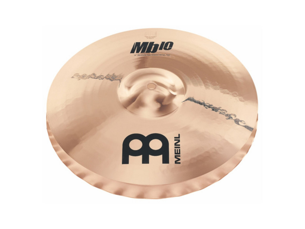 Hi-hat Cymbal Meinl MB10-15MSW-B, MB10 Serie, Medium Soundwave, 15""