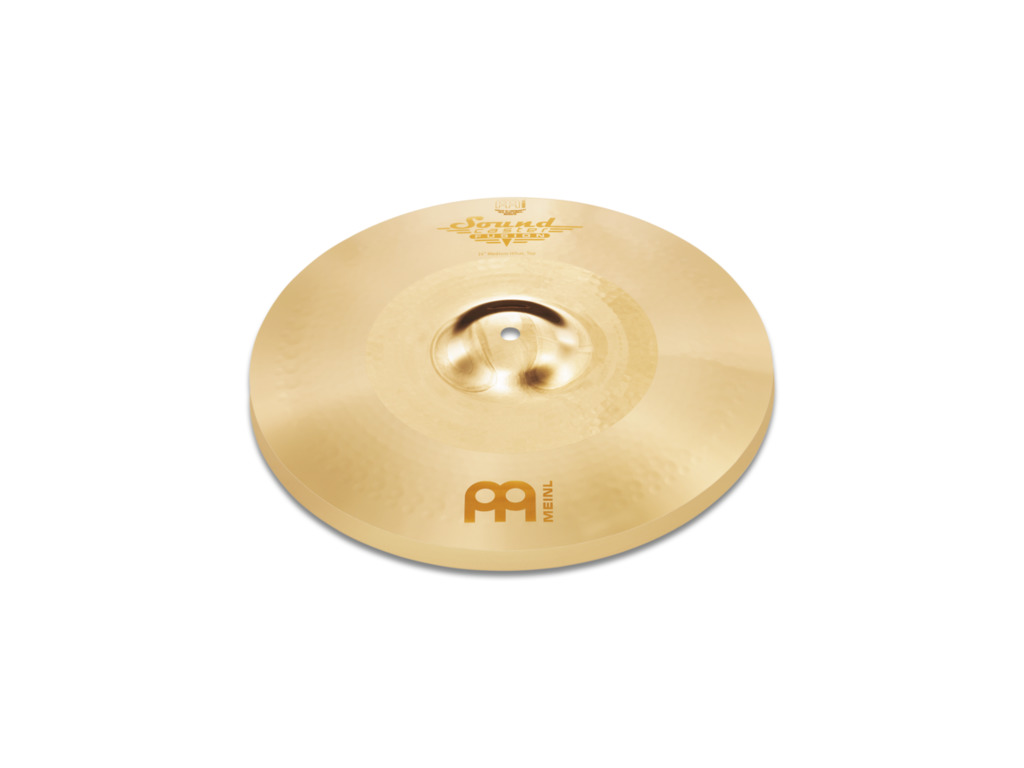 Hi-hat Cymbal Meinl SF13MH, Soundcaster Serie, Fusion, Medium, 13""
