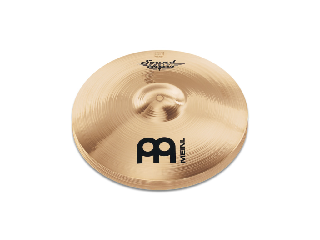 Hi-hat Cymbal Meinl SC14PH-B, Soundcaster Serie, Custom Powerful, 14""
