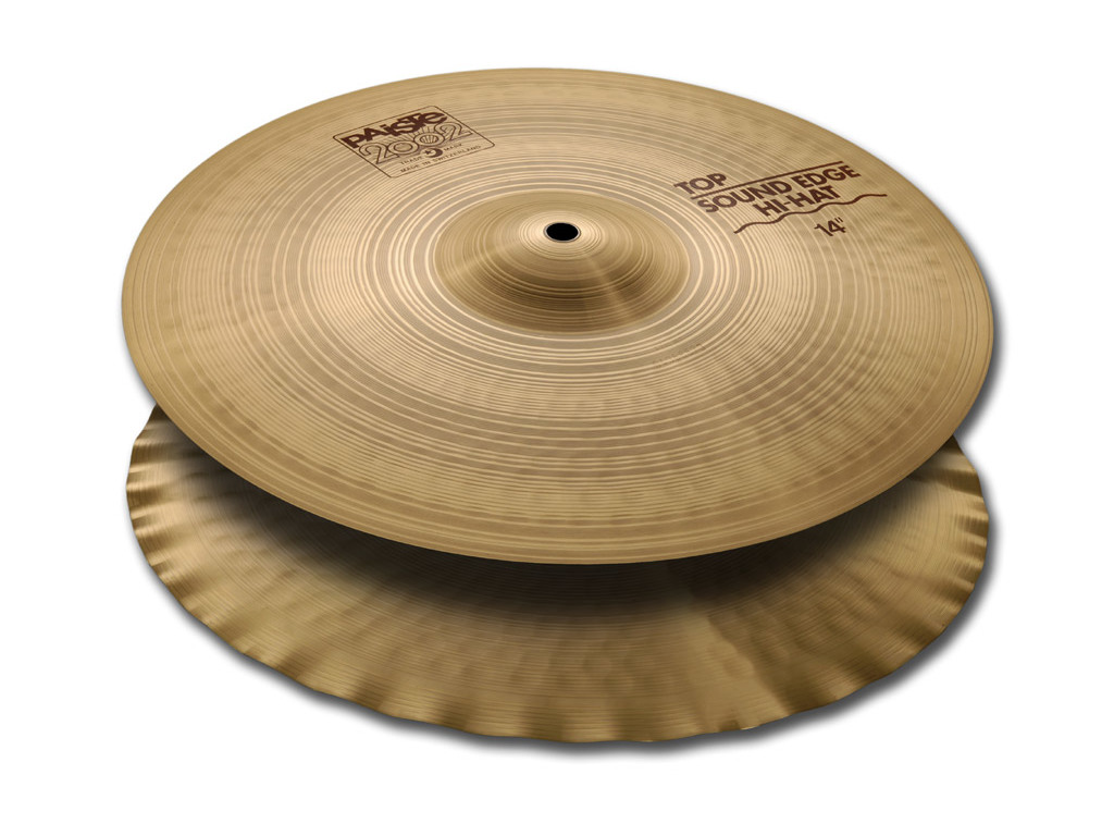 Hi-hat Cymbal Paiste CY0001063114, 2002 Serie, Sound Edge, 14""