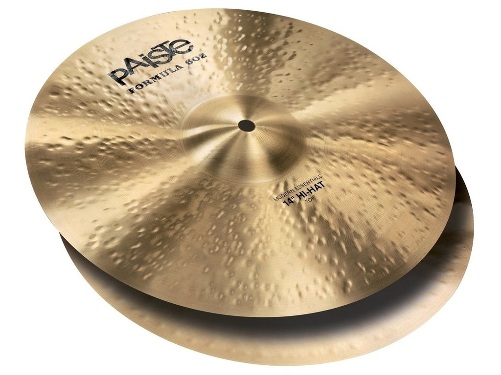 Hi-hat Cymbal Paiste CY0001043714, Formula 602 Classic Sounds Serie, Medium, 14""